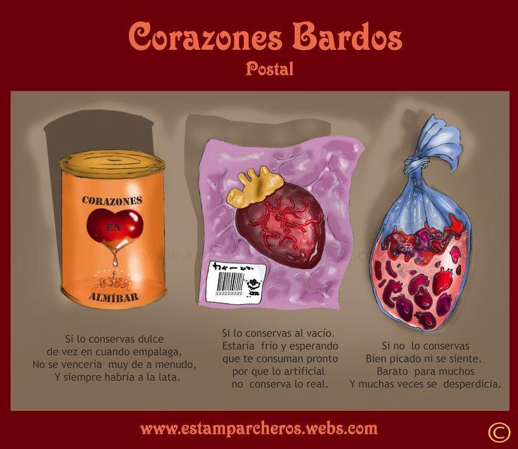 Corazones en conserva http://www.estamparcheros.webs.com/ http://cyanhin1988.wix.com/corazones-bardos