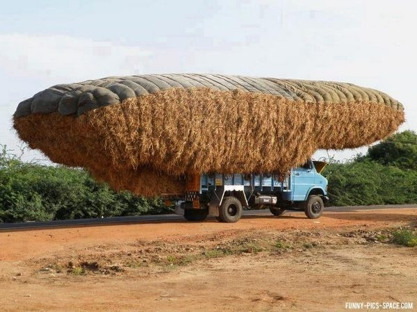 MeloPorti Truck overloaded