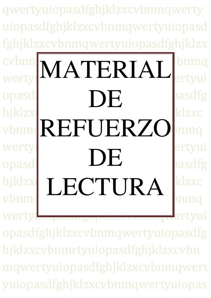 Lectura. Material de refuerzo de lectura