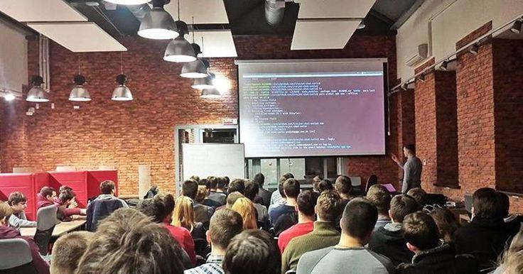 Weekly Talks 48 at High Technologies Park branch in Grodno. Speaker - our developer Pavel.  #software #development #softwaredevelopment #developer #program #programmer #programming #code #coding #coder #frontend #backend #nodejs #javascript #java #meetup #meeting #speaker #php #css #dotnet #mobile #htp #HighTechnologiesPark #functionaljs #codeaholics