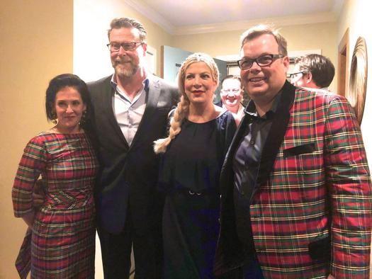 Sara Bonjean, Dean McDermott, Tori Spelling, Ron Bonjean