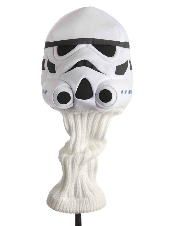 Funda palos Golf Star Wars. Stormtrooper Funda para palo de golf con la imagen del soldado imperial Stormtrooper.