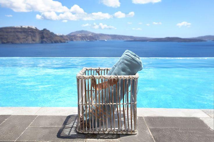 Swim into the Aegean at Santorini Secrect Suites & Spa