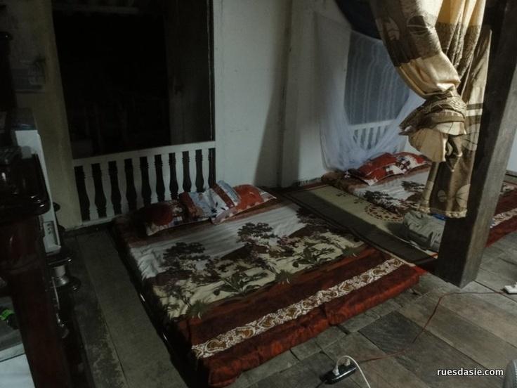 Passer la nuit chez l'habitant | Matelas pour dormir chez l'habitant au Vietnam