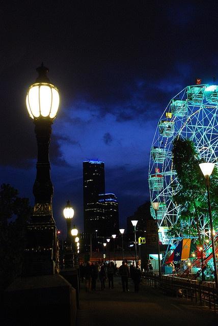 Melbourne night, Australia