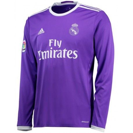 Camiseta del Real Madrid Away 2017 Manga Larga