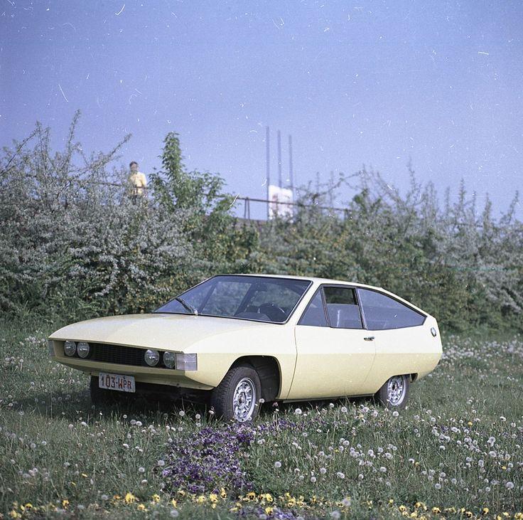 Polski Fiat 125p Coupé