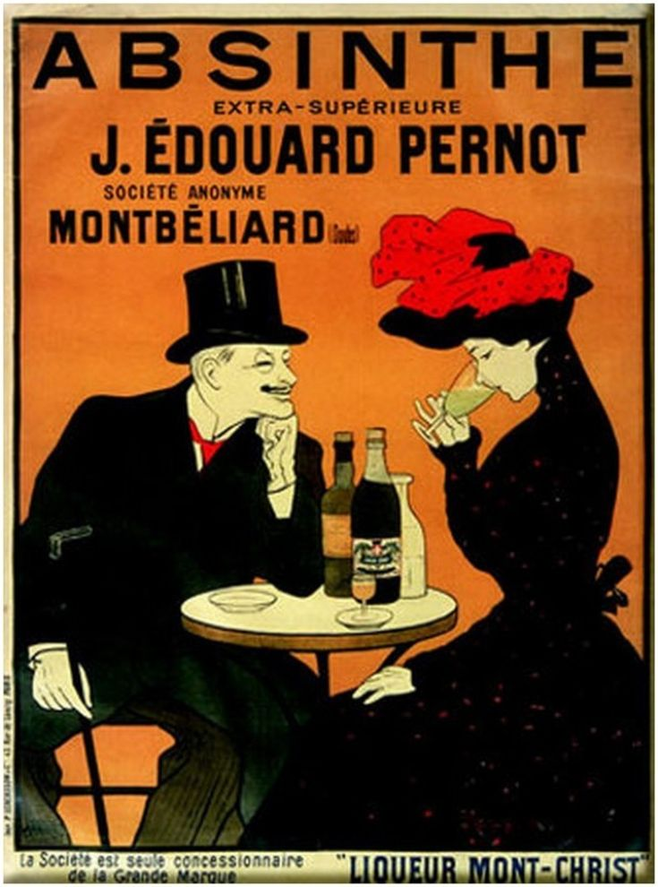 essay on absinthe They are seated next to each other in a parisian cafe, although neither are paying any attention to each other which represents the social isolation during this time of rapid growth in.