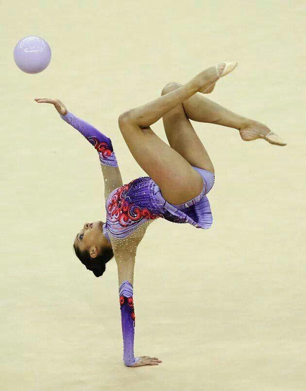 Rhythmic gymnastics ball!
