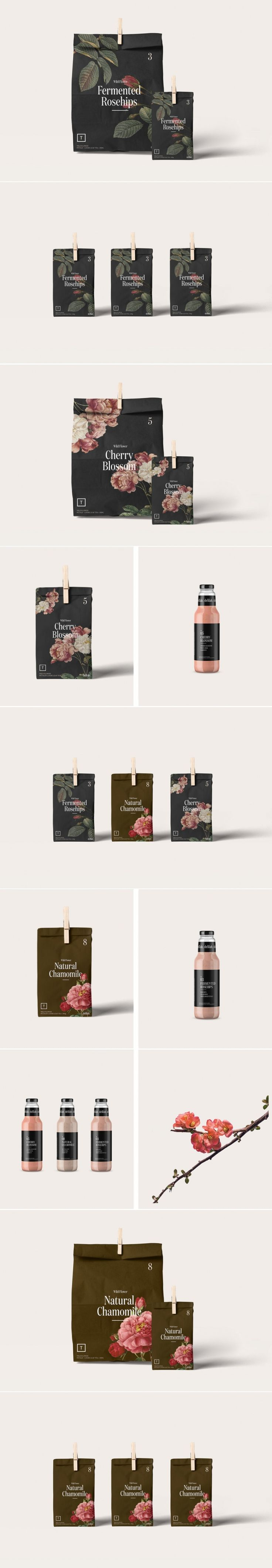 This Tea Packaging Embo s a Simple Sophistication
