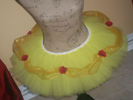 Belle Inspired Running Tutu by TutuDaLooo on Etsy!  http://www.etsy.com/shop/tutudalooo