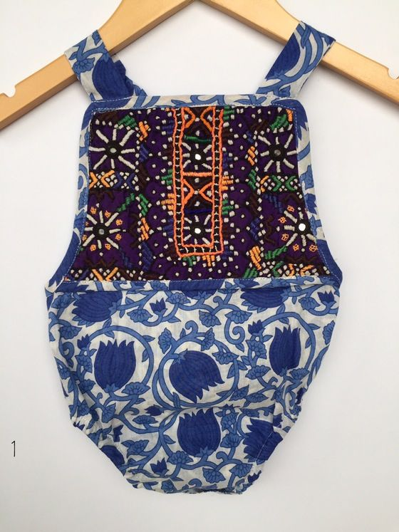 Image of Banjara Romper 9 12 Months Boho Kids Clothing