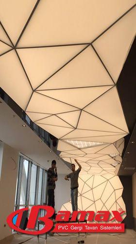 Özel tasarım tavan sistemi