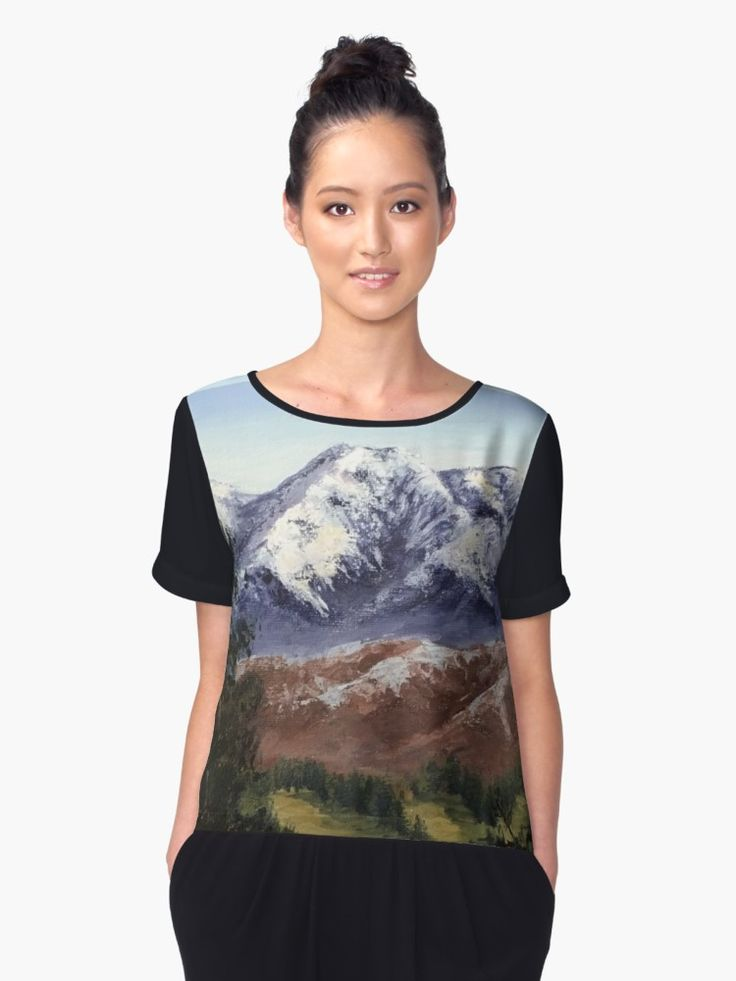 This mountain range is at the back of my house and whenever I take the dog out for a walk I get to see the way light chances how the mountains look. • Also buy this artwork on apparel, stickers, phone cases, and more.