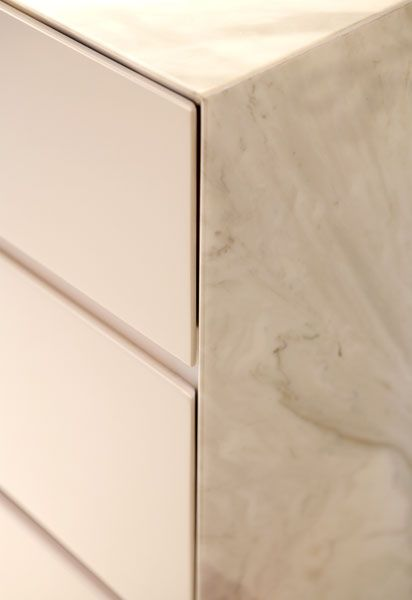 Minimal Marble Kitchen Detail
