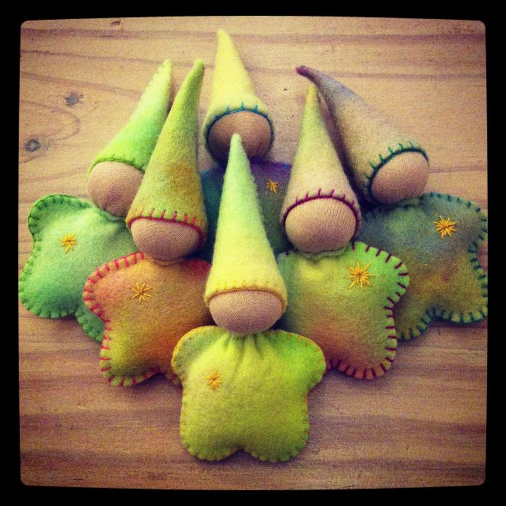 Star Babies made especially for little ones' birthdays.