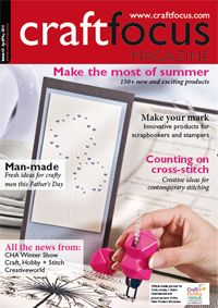 Have you seen the April/May issue of Craft Focus? http://www.craftfocus.com