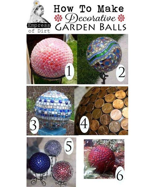 Diy Decor Balls: Home And Garden Design Ideas