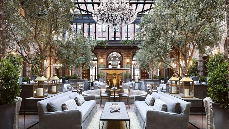 Restoration Hardware like you've never seen (or tasted) it before - 3 Arts Club Café, Chicago, IL location