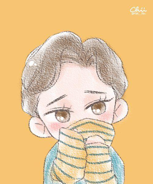 chii en Twitter: •160606 #Fanart #Chen #EXO #LuckyOne Cr: Chii___iihc