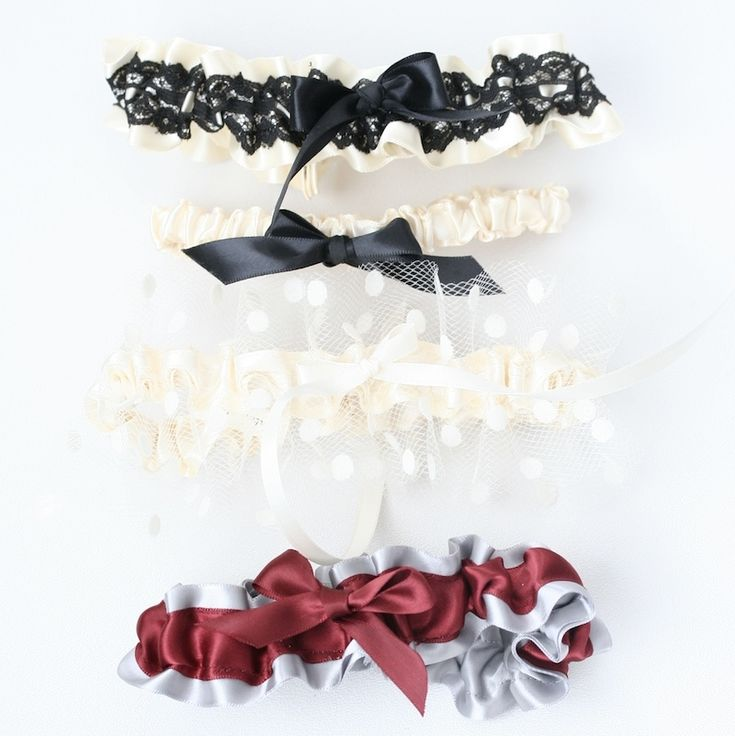 Custom Stylish Wedding Garters-by The Garter Girl