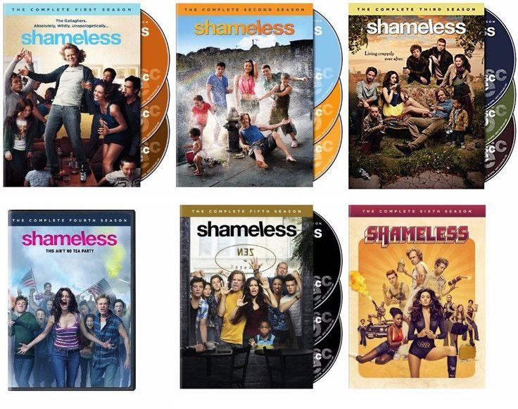 Shameless Seasons 1-6 (DVD)