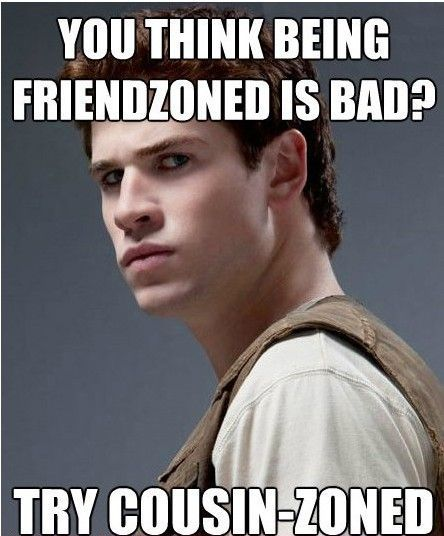 HAHAHAHA! The Hunger Games series, read the books then you'll get this :D