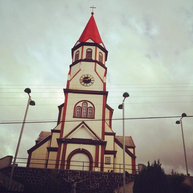 Sur de Chile, IGLESIA En Puerto Varas!