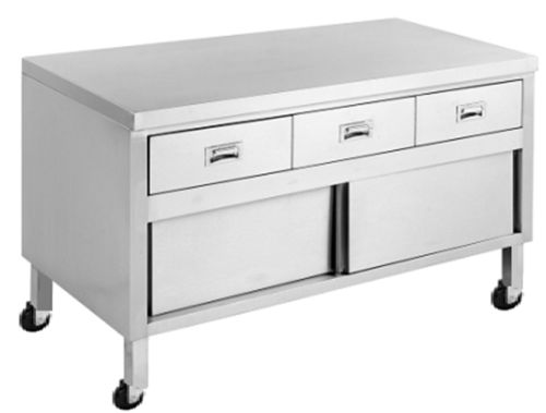 Commercial Stainless Steel Cabinets - Minox DM76-7-1200 Work Bench Cabinet - www.hoskit.com.au | Hoskit Online Store | Sydney, Melbourne, Perth, Brisbane