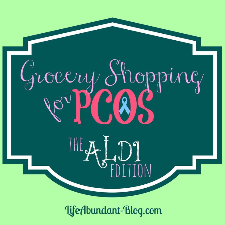 Grocery Shopping for PCOS - The Aldi Edition
