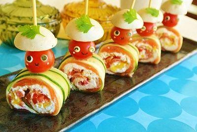 Salmon roll !