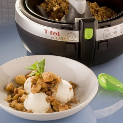 Chef Ming Tsai's Five Spice Apple Crumble