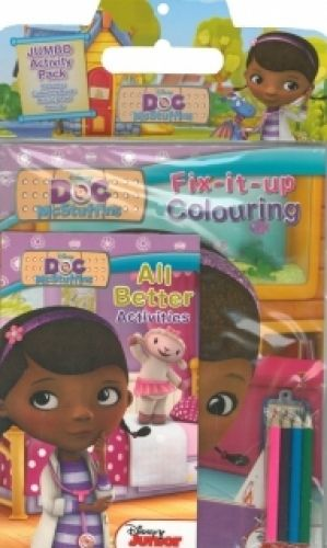 Doc Mcstuffins Jumbo Activity Pack,