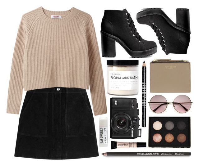 """Untitled #728"" by rheeee ❤ liked on Polyvore featuring rag & bone, H&M, Fig+Yarrow, Kurt Geiger, Lord & Berry, LORAC, Toast and Smashbox"