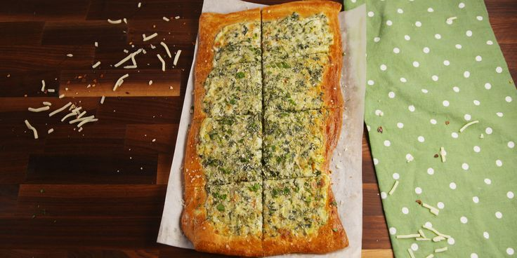 Best Spinach Artichoke Flatbread Recipe - How to Make Spinach Artichoke Flatbread