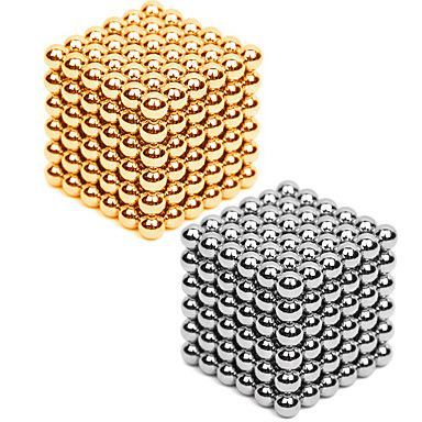 Magnet Toys 2×216 3mm Magnet Toys Executive Toys Puzzle Cube DIY Toys Magnetic Balls Silver Gold Education Toys For Gift 5313647 2017 – $13.99