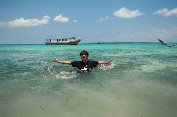 Pantai Rajuni, Selayar, Sulawesi Selatan, Indonesia