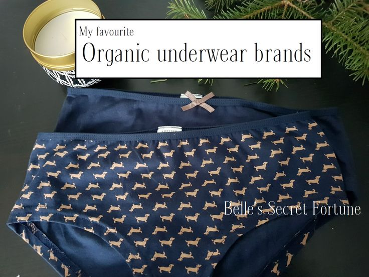 Belle's Secret Fortune  My favourite organic underwear brands  Dachshund underwear