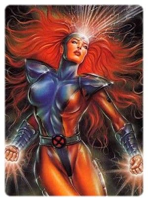 Jean Grey-Jean Grey was one of the five original X-Men, and the ex-wife of Cyclops/Scott Summers. An Omega-level mutant telekinetic and telepath, Jean has gained near limitless powers as a recurrent host of the Phoenix Force.