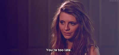 """You're too late."" -Marissa Cooper. #TheOC Season 1, #6: The Girlfriend."
