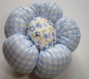 PAP Fuxico Pétalas Cheias: Da Rose, Fuxico Pétalas, The Tela, Fabrics Flower, Flora, The Handmade, Flor De Patchwork, To Gossip, Fuxico Flor