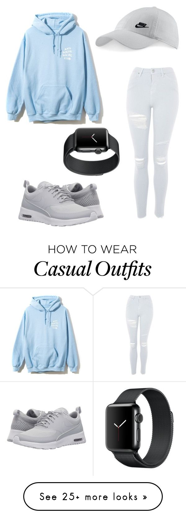"""TGIF"" by trinitee-wright on Polyvore featuring Topshop and NIKE"
