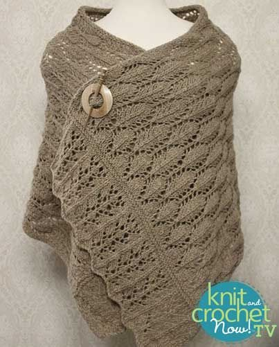 Knit And Crochet Today : ... Rafael Knit pattern featured in Season 7 of Knit and Crochet Now! TV