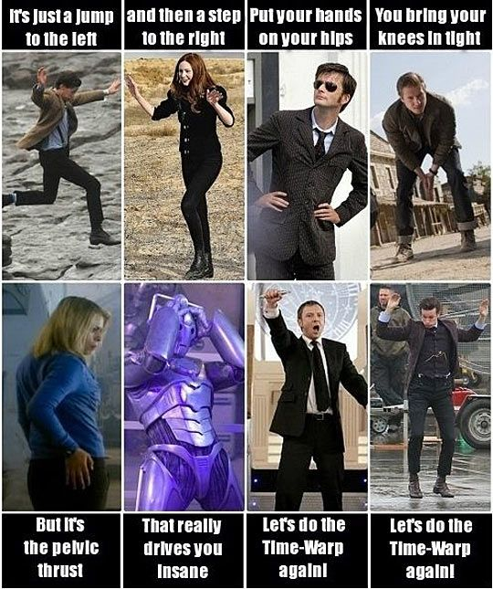 Funny - time lord time warp