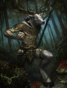 Caribou Man (Native American mythology)~ i swear i saw this creature on Adventure Time..