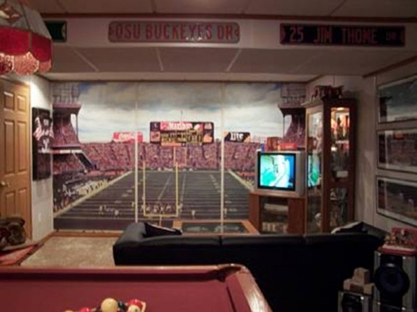 Lsu Man Cave Ideas : Great customer examples gameroom murals your way for
