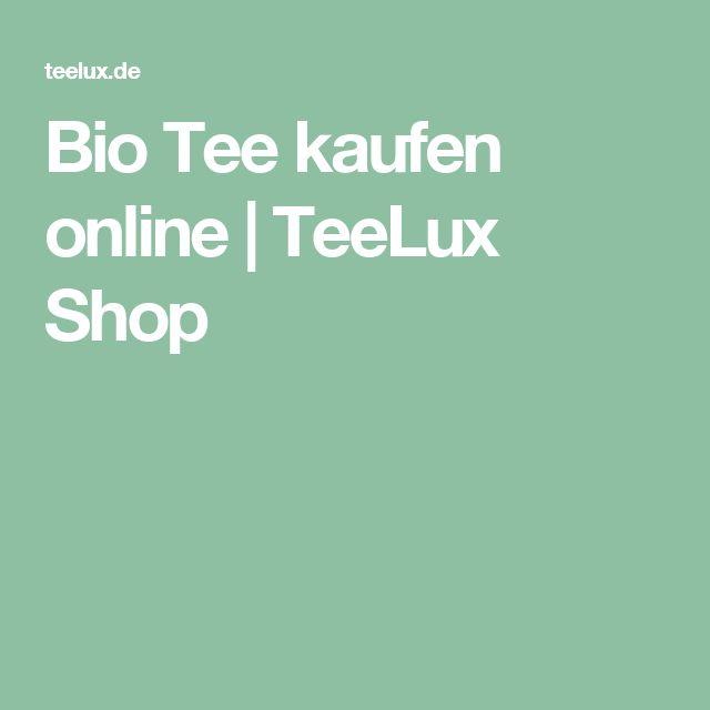 Bio Tee kaufen online   TeeLux Shop