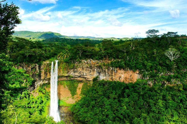 Chamarel Waterfalls