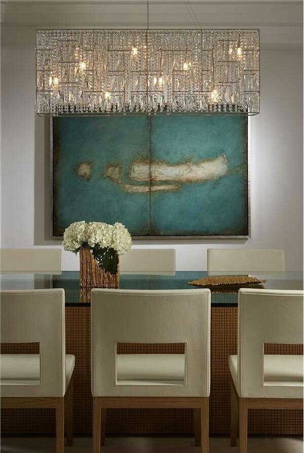 Elegant Dining Room Chandeliers Pleasing 29 Best Dining Decor Images On Pinterest  Banquette Table Decorating Design