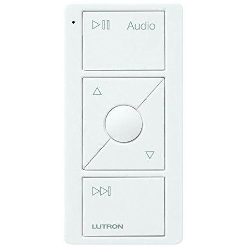 Lutron Pico Wireless Remote For Sonos - White